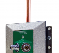 Dual connect outlet oxygen